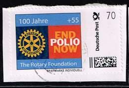 Portocard, Rotary - End Polio Now, Portostufe 70 Ct. - [7] Federal Republic