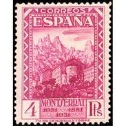 ES647STV-LTV***647STAN.Spain.Esgane.Monasterio De La VIRGEN DE MONTSERRAT 1931 (Ed 647**) - 1889-1931 Reino: Alfonso XIII