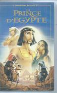"""VHS / K7 Vidéo  """"  LE PRINCE D'EGYPTE  """"  WALT DISNEY - Dessins Animés"""