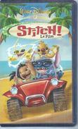 """VHS / K7 Vidéo  """"  STITCH !  """"  WALT DISNEY - Dessins Animés"""