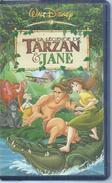 "VHS / K7 Vidéo  ""  LA LEGENDE DE TARZAN & JANE  ""  WALT DISNEY - Dessins Animés"