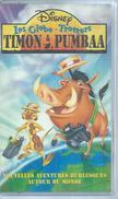 """VHS / K7 Vidéo  """"  TIMON & PUMBAA - LES GLOBE-TROTTERS  """"  WALT DISNEY - Dessins Animés"""