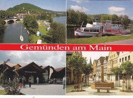 CPM Gemünden A. Main - Die Fränkische Dreiflüssestadt - Gemuenden