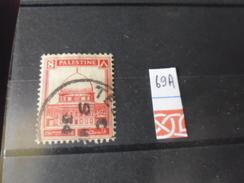 PALESTINE TIMBRE OBLITERE  YVERT N°69 A - Palestine