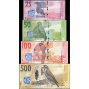 TWN - SEYCHELLES NEW - 25-500 Rupees 2016 Set Of 4 UNC - Seychelles