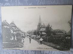 DANNEMARIE  .ROUTE DE  DELLE - Dannemarie