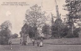 Carte 1907 La SELLE SUR LE BIED / CAUBERT - ALLEE DES MARONNIERS - France