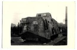 MILITARIA. CARTE PHOTOS MILITAIRE. TANKE BOCHE - Andere Kriege