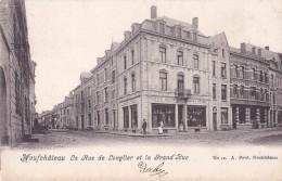 NEUFCHATEAU : La Rue De Longlier Et La Grand'Rue - Belgique