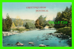 GREETINGS FROM MONTREAL - PUB. BY STEDMAN BROS, LIMITED - - Souvenir De...