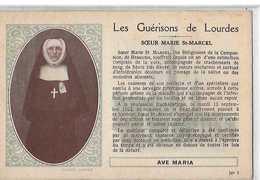 BEAUVAIS SOEUR MARIE SAINT MARCEL  GUERISON DE LOURDES      GROS PLAN   DEPT 60 - Beauvais