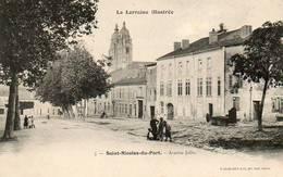 CPA - SAINT-NICOLAS-du-PORT (54) - Aspect De L'Avenue Jolin En 1900 - Saint Nicolas De Port