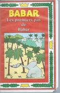 """VHS / K7 Vidéo    """"  BABAR - LES PREMIERS PAS DE BABAR  """" - Dessins Animés"""