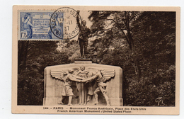 !!! CARTE MAXIMUM CONSTITUTION FEDERALE DES ETATS UNIS CACHET EXPOSITION PARIS TOURISME 1937 REF A1 - Maximum Cards