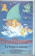 """VHS / K7 Vidéo    """"  LES BISOUNOURS - LA BOITE A SECRETS  """" - Dessins Animés"""