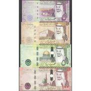 TWN - SAUDI ARABIA NEW - 5-100 Riyals 2016 Set Of 4 UNC - Arabia Saudita
