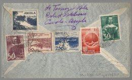 ANGOLA 1949 TO BELGIUM - BB6 - Angola