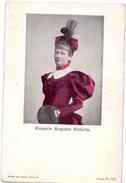 CP - Adel Noblesse Allemagne - Deutschland -  Kaiserin Augusta Victoria - Familias Reales