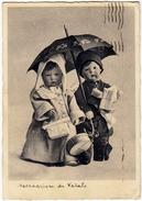 MESSAGGERI DI NATALE - 1936 - BAMBINI BAMBOLA E BAMBOLOTTO - Vedi Retro - Santa Claus