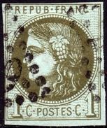 CERES BORDEAUX  N° 39B OB.LOS.GC - 1870 Bordeaux Printing