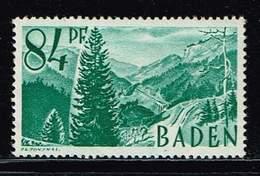 Baden 1947, Michel# 12 Yv ** - Zone Française