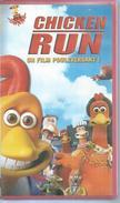 """VHS / K7 Vidéo    """"  CHICKEN RUN   """" - Dessins Animés"""