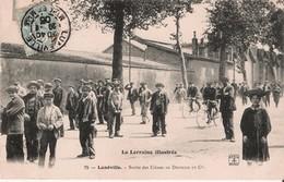 Sortie Usine Lorraine Dietrich Lunéville écrite En 1905 à G Petitin Rue Ourcq PAris - Luneville