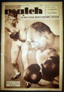 MATCH L'Intran 440 Sport PATINAGE Artistique BOXE Marcel Thil Vs Mac Avoy RUGBY FOOTBALL Sochaux ATHLETISME Cross 1935 - Zonder Classificatie