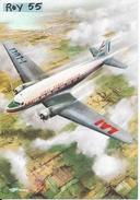 Aereo Linee Aeree Italiane Bimotore Douglas Dc 3 Lai (vedi Retro) - Aerei
