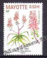 Mayotte 2006 Yvert 190, Flora, Pnats, Aloe - MNH - Unused Stamps