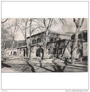 GRNTP6231CPA-LFTD4839TAD.Tarjeta Postal DE GERONA,arboles,edificio.ADUANA DE LA JUNQUERA.Gerona - Aduana