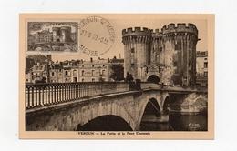 !!! CARTE MAXIMUM VERDUN CACHET ORDINAIRE DE VERDUN DU 23/6/1939 (1ER JOUR) REF B4 - Maximum Cards