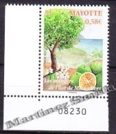 Mayotte 2011 Yvert 252, Flora, Tree, Mtzamboro Orange Trees  - MNH - Unused Stamps