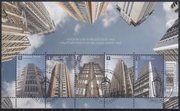 BELGIQUE 2010 Nº 4030/34 EN BLOQUE USADO 1º DIA - Bloques 1962-....