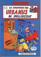 Urbanus - De Spellekeszot (1ste Druk)  1990 - Urbanus