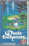 "VHS / K7 Vidéo    ""  LA FORET ENCHANTEE   "" - Dessins Animés"