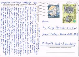 23174. Postal TIROL Di MERANO (Italia) 1982. Vista Sta Caterina, Caballo, Cheval - 1981-90: Storia Postale