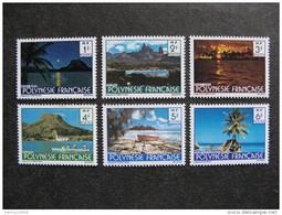 Polynésie: TB Série N° 132 Au N° 137 ,neufs XX . Cote =3.20 Euros. - Neufs