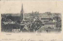 Leuven - Louvain - Panorama - Circulé En 1908 - Dos Non Séparé - TBE - Leuven