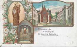 Leuven - Louvain - Souvenir Du Pélérinage De St-Joseph à Louvain - Circulé En 1908 - TBE - Leuven