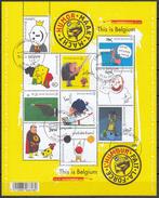 BELGIQUE 2011 Nº 4116/25 EN BLOQUE USADO 1º DIA - Bloques 1962-....