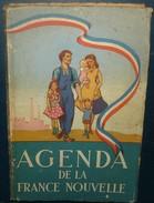AGENDA DE LA FRANCE NOUVELLE.1941.384 Pages. - Cultura