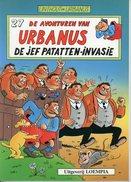 Urbanus - De Jef Patatten-invasie (1ste Druk)  1990 - Urbanus