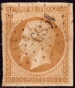 NAPOLEON ND N° 13B BRUN  OB. PC 1980 SEINE & OISE IND.4 TB - 1853-1860 Napoleon III