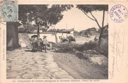 CHINE - Divers / Campement De Soldats Protégeant La Douane Chinoise - Men Tsz 1900 - Chine