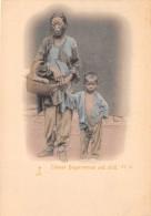 CHINE - Hong Kong / Chinese Beggarwoman And Child - Beau Cliché Précurseur - Chine (Hong Kong)
