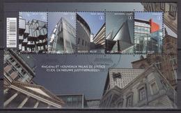 BELGIQUE 2011 Nº 4141/45 EN BLOQUE USADO 1º DIA - Blocks & Kleinbögen 1962-....