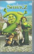 """VHS / K7 Vidéo    """"  SHREK 2  """" - Dessins Animés"""