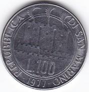 SAN MARINO  LIRE 100   1977 SPL - San Marino