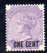 XP2306 - MAURITIUS 1885 , Yvert N. 76   *** - Mauritius (...-1967)
